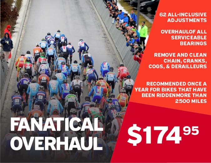 Fanatical Overhaul - $174.95