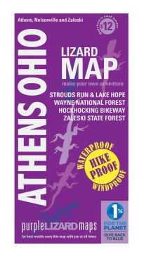 Athens, Ohio Adventure Map by Purple Lizard
