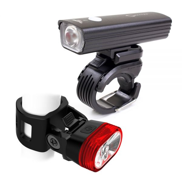 Serfas ESC-605 E-LUME Combo Light Set