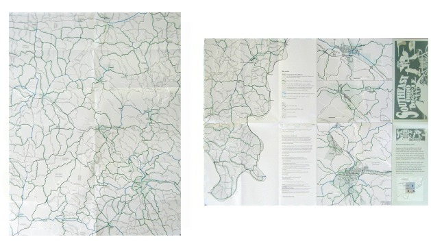 Southeast Ohio Bicycle Map